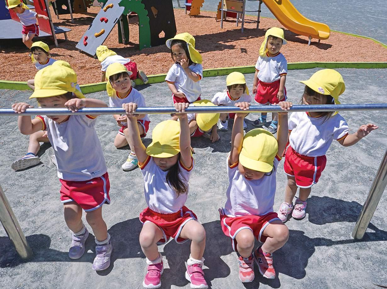 自由遊び|みのる幼稚園
