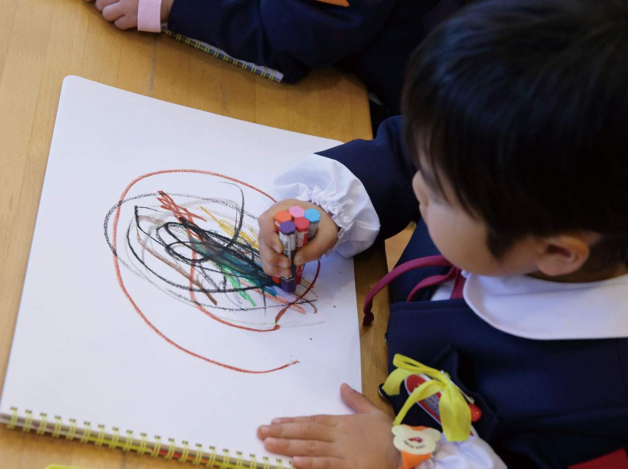 お絵描き|みのる幼稚園