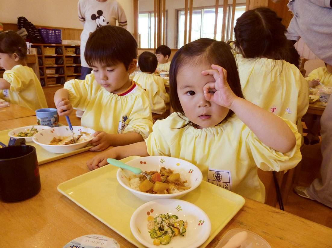 給食|みのる幼稚園