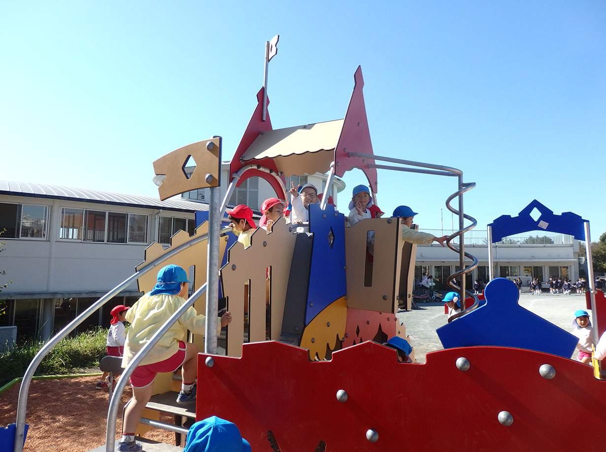 午後の自由遊び|みのる幼稚園