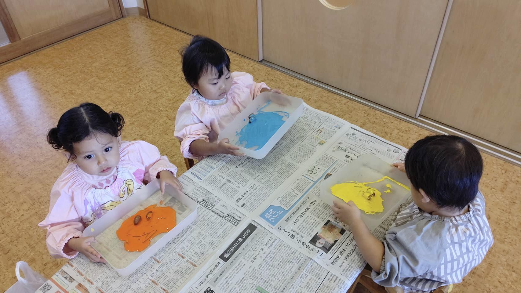 今日のうさぎ組さん🎶 | 認定こども園みのる幼稚園